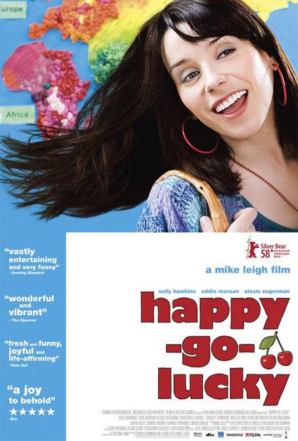 Poster La felicità porta fortuna - Happy Go Lucky