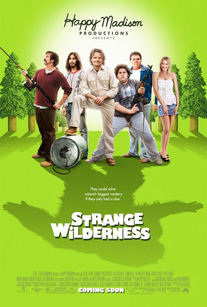 Locandina italiana Strange Wilderness