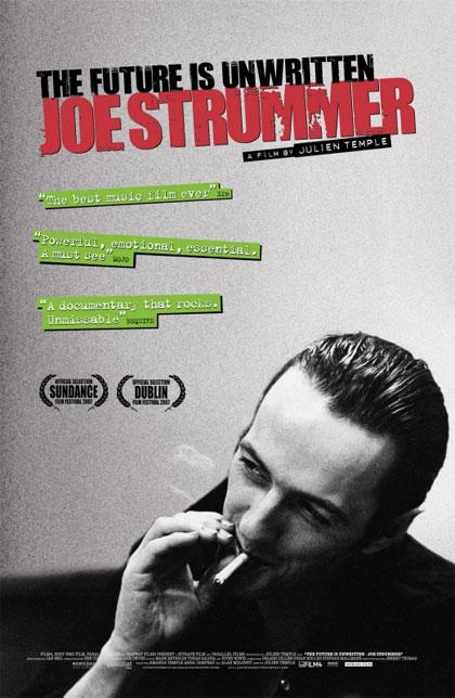Locandina italiana Il futuro non è scritto - Joe Strummer