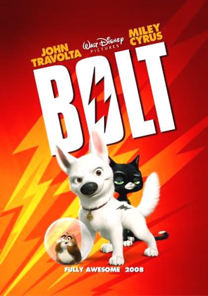 Poster Bolt - Un eroe a quattro zampe