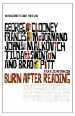 Poster Burn After Reading - A prova di spia  n. 4