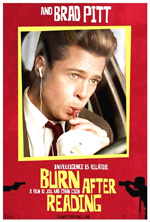 Poster Burn After Reading - A prova di spia  n. 6