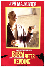 Poster Burn After Reading - A prova di spia  n. 7