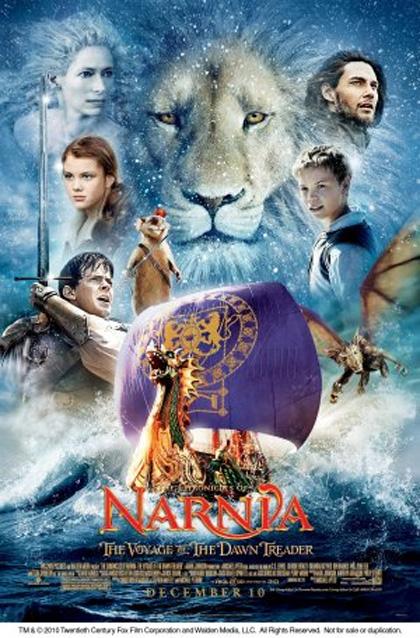 Poster Le Cronache di Narnia - Il viaggio del veliero