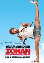 Poster Zohan - Tutte le Donne Vengono al Pettine  n. 0