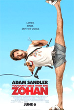 Poster Zohan - Tutte le Donne Vengono al Pettine  n. 2
