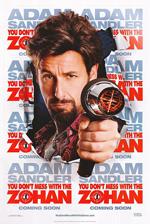Poster Zohan - Tutte le Donne Vengono al Pettine  n. 5