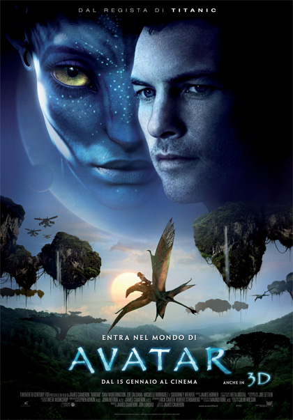 Locandina italiana Avatar