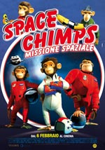 Locandina Space Chimps