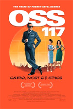 Poster OSS 117, Le Caire nid d'espions  n. 1