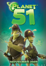 Poster Planet 51  n. 13