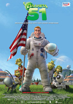 Poster Planet 51  n. 14