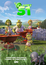 Poster Planet 51  n. 3