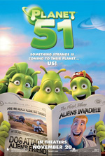 Poster Planet 51  n. 4