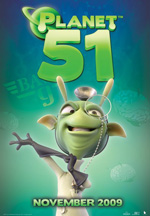 Poster Planet 51  n. 8