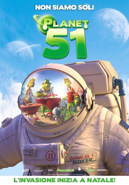 Locandina italiana Planet 51