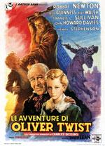 Locandina Le avventure di Oliver Twist