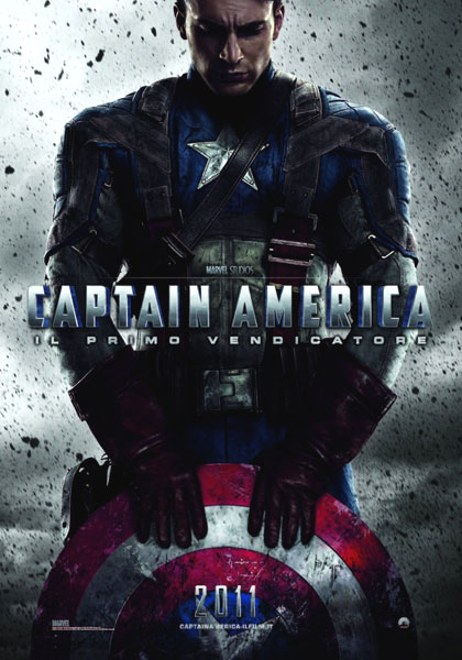 Poster Captain America: Il primo vendicatore