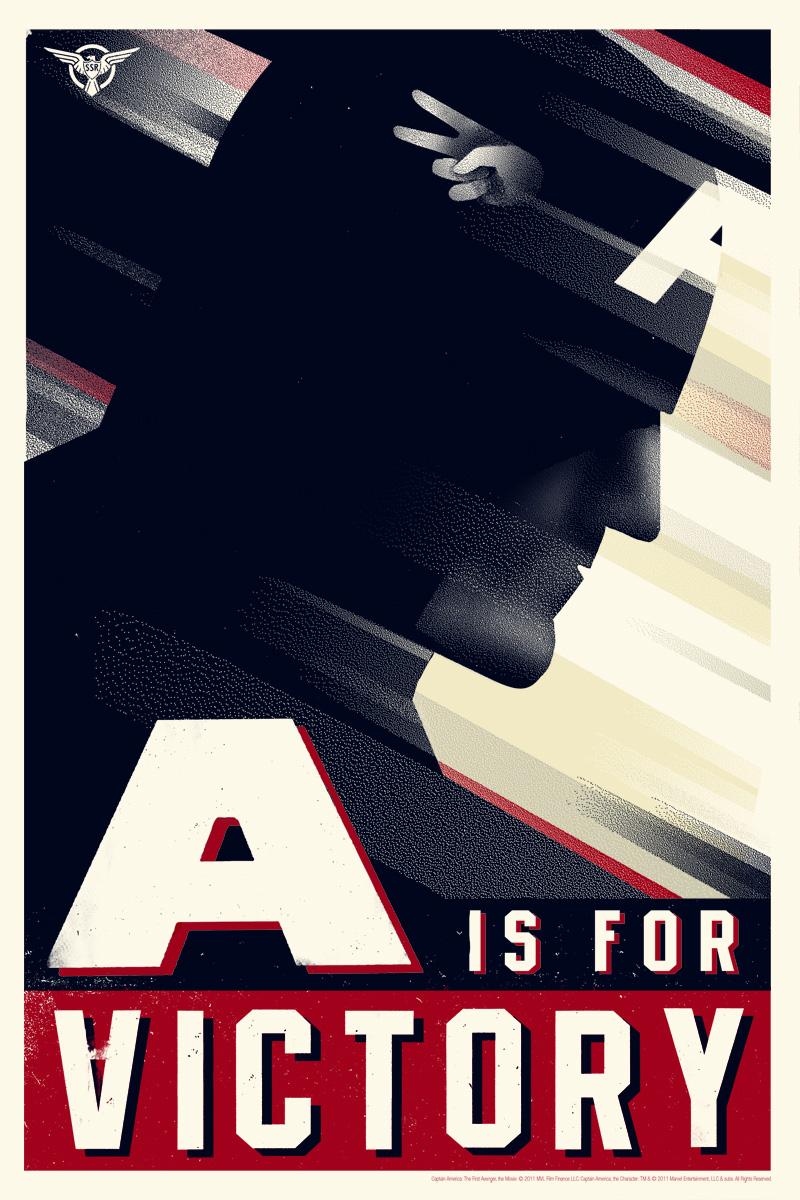 Poster Captain America: Il primo vendicatore