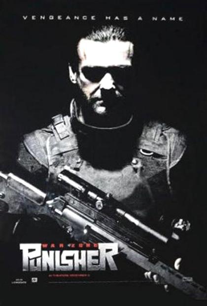 Poster Punisher: Zona di guerra
