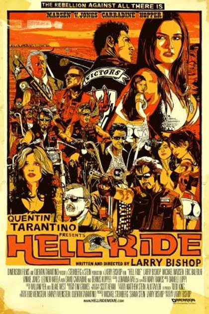 Locandina italiana Hell Ride