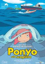 Poster Ponyo sulla scogliera  n. 0