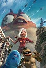Poster Mostri contro alieni  n. 1