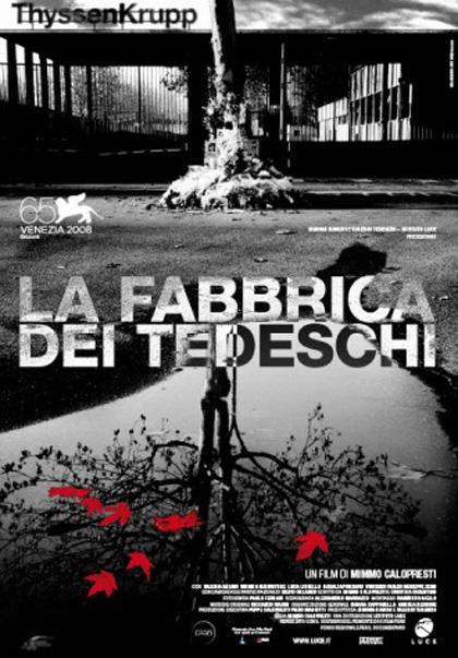 Locandina italiana La fabbrica dei tedeschi