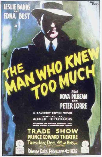 Poster L'uomo che sapeva troppo [1]