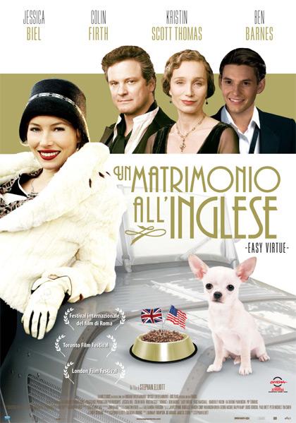 Locandina italiana Un matrimonio all'inglese