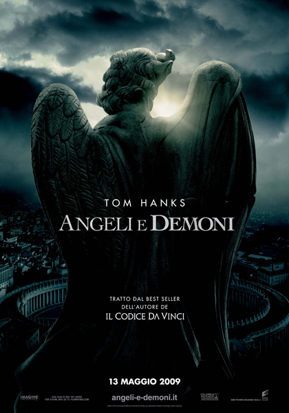 Locandina italiana Angeli e Demoni