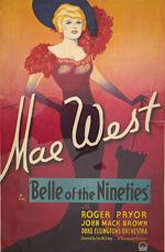 Locandina Belle of the Nineties