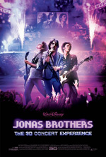 Poster Jonas Brothers: The 3D Concert Experience  n. 1
