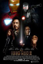 Poster Iron Man 2  n. 8