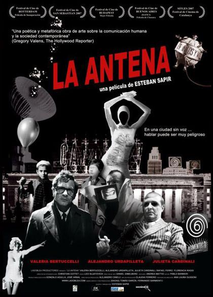 Locandina italiana La antena