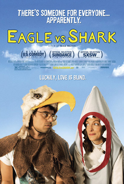 Locandina italiana Eagle vs Shark