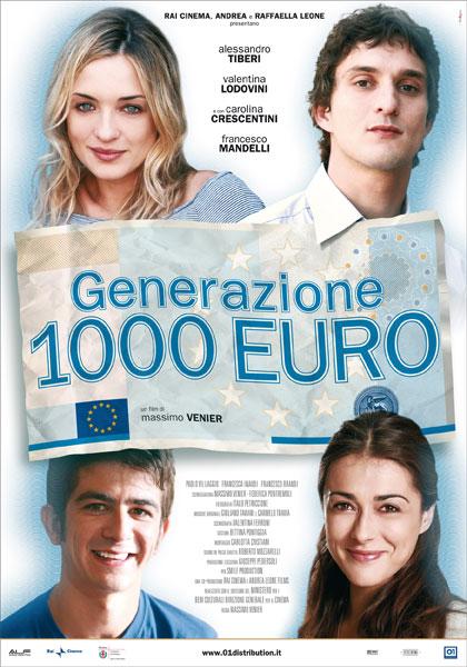 Locandina italiana Generazione 1000 euro