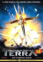 Locandina Battaglia per la Terra 3D