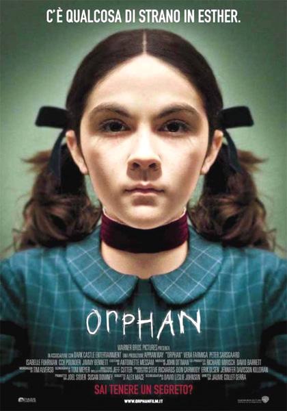 Locandina italiana Orphan