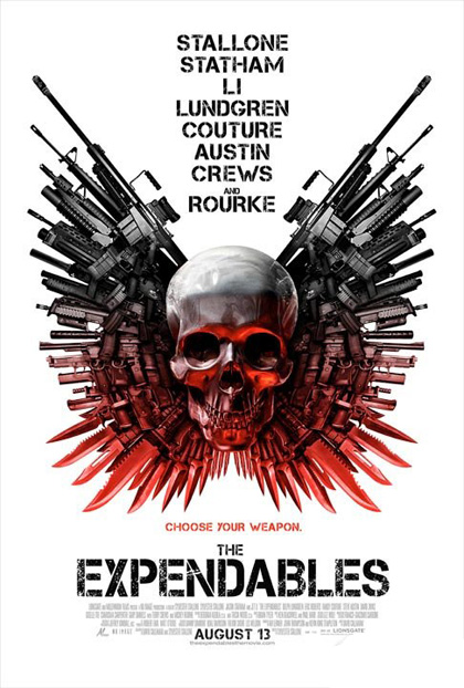 Poster I mercenari - The Expendables