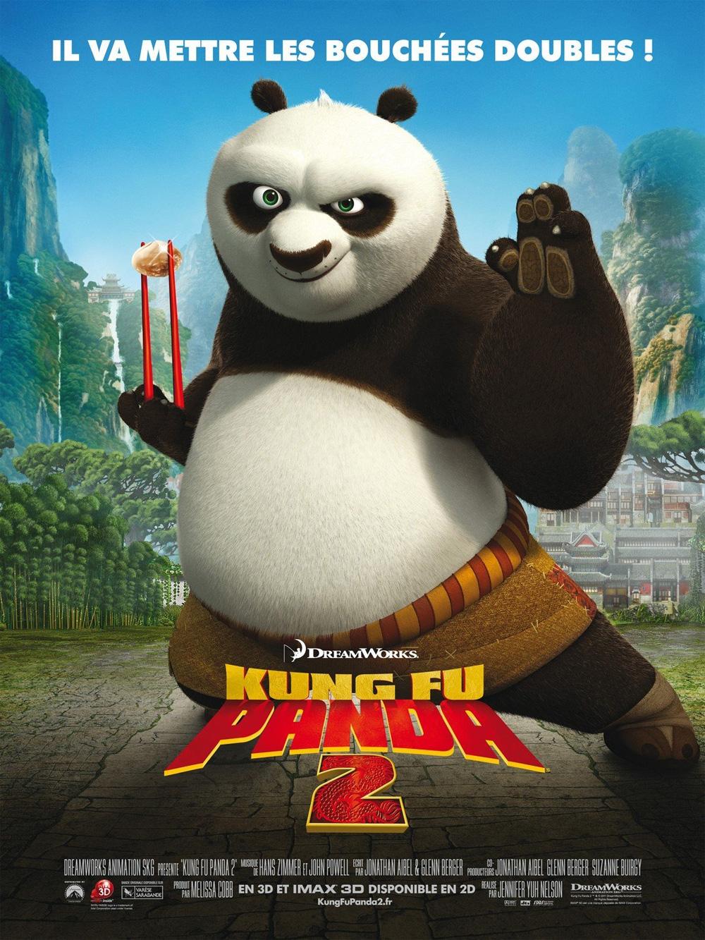 Poster Kung Fu Panda 2