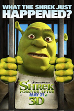 Poster Shrek e vissero felici e contenti  n. 3