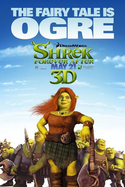 Poster Shrek e vissero felici e contenti