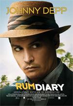 Poster The Rum Diary - Cronache di una passione  n. 1