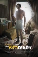 Poster The Rum Diary - Cronache di una passione  n. 2