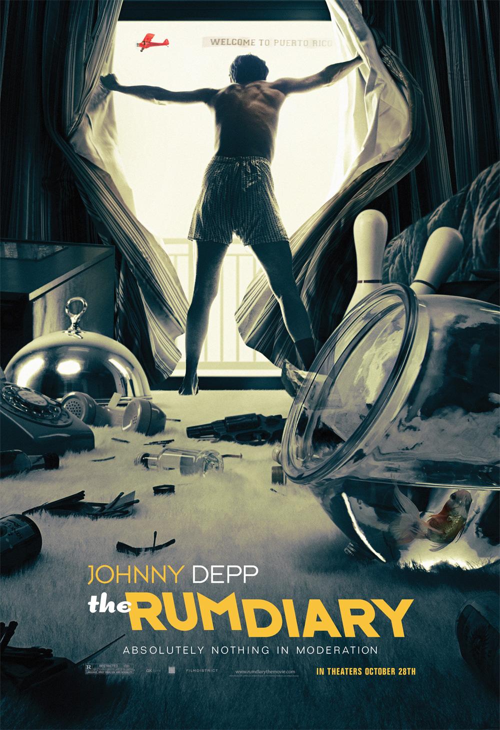 Poster The Rum Diary - Cronache di una passione