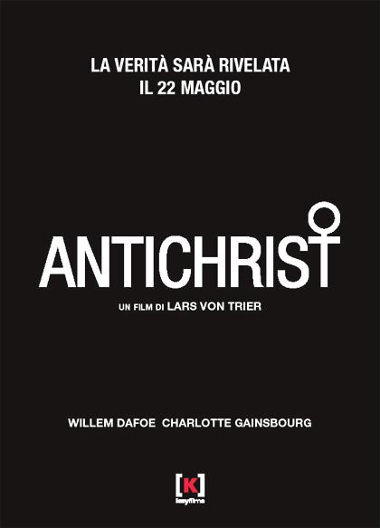 Locandina italiana Antichrist