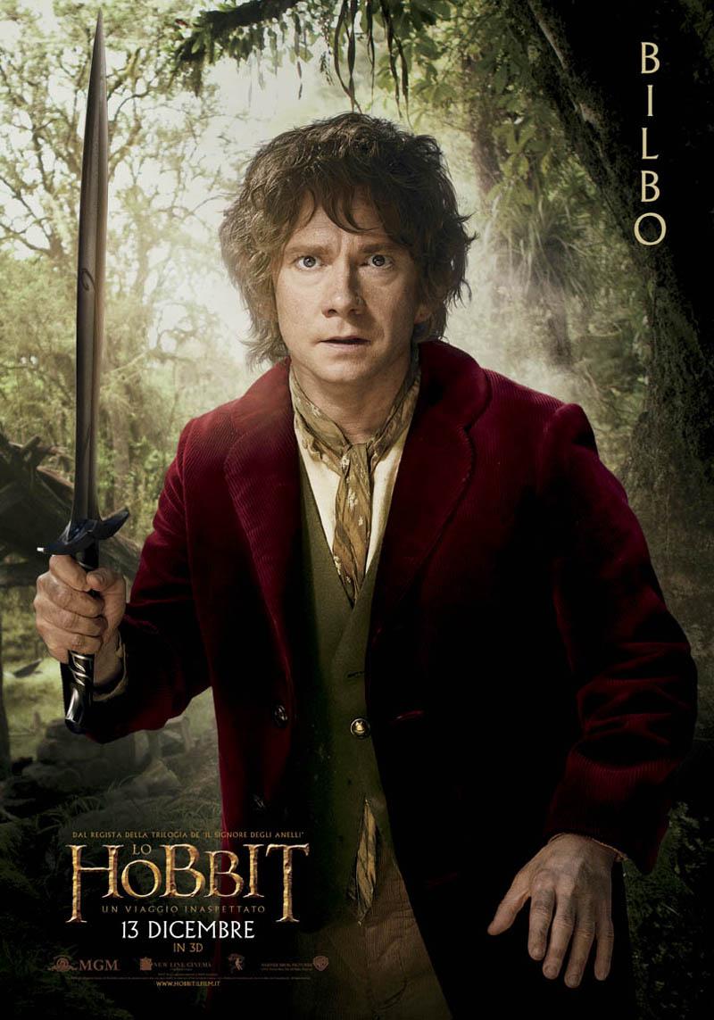 Poster Lo Hobbit - Un viaggio inaspettato