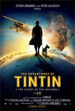 Poster Le avventure di Tintin - Il segreto dell'Unicorno  n. 3