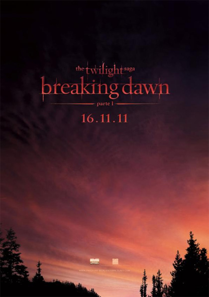 Poster The Twilight Saga: Breaking Dawn - Parte 1